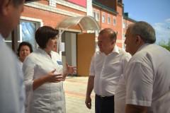 В больнице Адыгейска первичное сосудистое отделение принимает пациентов