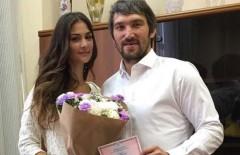 Хоккеист Овечкин сыграл свадьбу с моделью Шубской