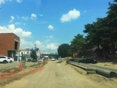 Подготовительные работы перед капремонтом ул. Новороссийской в Краснодаре возобновлены