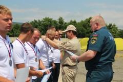 Победителями открытых региональных соревнований ЮРПСО МЧС России стали сочинские спасатели