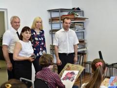 Губернатор Кубани оценил центр молодежного творчества в Курганинске