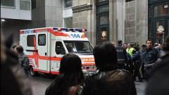 В Швейцарии неизвестный с бензопилой напал на людей