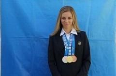 Кубанская легкоатлетка второй раз завоевала титул чемпионки Сурдлимпийских игр