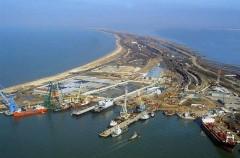 При строительстве порта Тамань будут использовать местные материалы