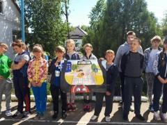В Крыловском районе сотрудники ГИБДД провели районный конкурс «Безопасное колесо-2017»