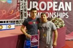 На первенстве Европы донские борцы выиграли две медали