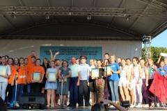На Кубани прошел фестиваль «Нам жить в России»