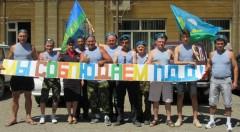 На Ставрополье десантники призывают жителей и гостей региона соблюдать ПДД