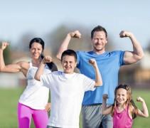 В Кореновске прошли соревнования «Спортивная семья»