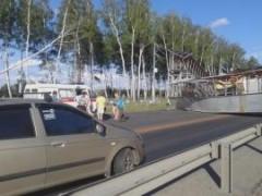 При обрушении моста на трассе М-7 «Волга» пострадали два человека