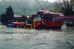 В Приморье из-за дождя затоплены дороги, дома и железная дорога