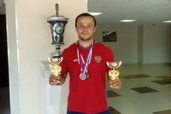 Сочинский тяжелоатлет стал призёром чемпионата России