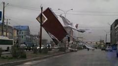 В Дагестане последствия сильного урагана