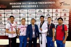 Дончанин Алексей Денисенко успешно выступил на этапе мировой серии гран-при по тхэквондо