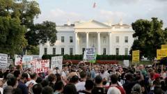 Протесты против ультраправых в Вашингтоне обернулись столкновениями с полицией