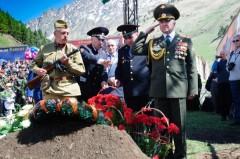 В Приэльбрусье почтили память защитников Кавказа, погибших в годы Великой Отечественной войны