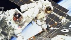 Российский экипаж МКС провел в открытом космосе около 7,5 часов