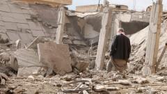 В сирийской Ракке из-за ударов коалиции во главе с США  за сутки погибли почти 80 жителей