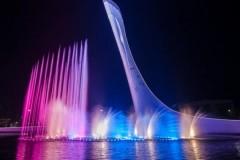Фонтан «Чаша Олимпийского огня» в Сочи закроют на профилактику