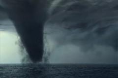 В Адлере над морем пронеслось несколько смерчей
