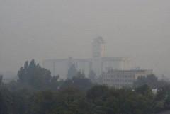 Мадрид окутал едкий дым