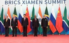 Владимир Путин принял участие во встрече лидеров БРИКС