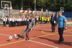 В ростовской областной школе-интернате № 29 открыли спортплощадку