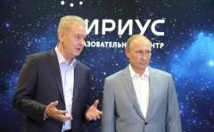 Владимир Путин посетил образовательный центр «Сириус» в Сочи