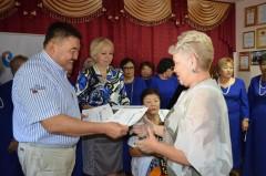 «Ростелеком» организовал праздник для пенсионеров к 80-летию Управления связи Калмыкии