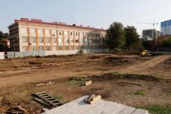 Строительство новой школы на 1,1 тыс. мест начали в Краснодаре