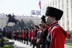 Кубанские казаки устроили флешмоб в день рождения Путина