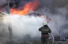 В Забайкалье при пожаре погибли два мужчины и 3-летний ребенок