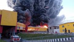 В ТЦ «Синдика» на МКАД сохраняется угроза обрушения конструкций