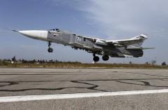 В Сирии разбился Су-24 ВКС РФ, экипаж погиб