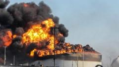 В Турции прогремел взрыв на нефтеперерабатывающем заводе