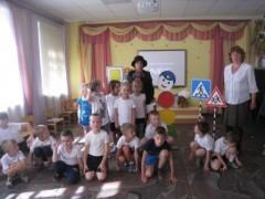 Полицейские посетили детский сад во Владикавказе