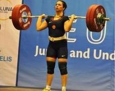 Кубанская спортсменка завоевала «серебро» на первенстве Европы по тяжелой атлетике