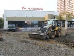 Площадь перед кинотеатром «Болгария» в Краснодаре будет благоустроена к 1 декабря