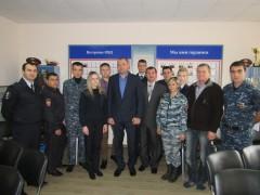 В Александровском отделе полиции ветераны МВД Ставрополья провели «Урок мужества»