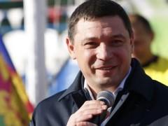 Евгений Первышов открыл финальные игры по мини-футболу