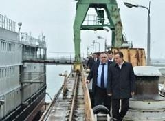 Вениамин Кондратьев заявил о необходимости модернизации «5-го судоремонтного завода» в Темрюке
