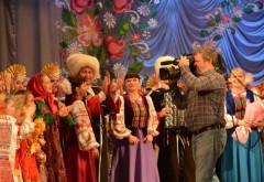 Съемки музыкальной телепрограммы «Играй, гармонь любимая!» прошли в Крымском районе Кубани