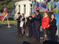 Обновленный школьный спортивный зал открыли в Динском районе Кубани