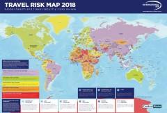 International SOS создала карту самых опасных мест для туристов