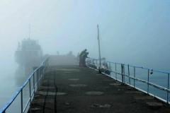 В Крыму из-за тумана приостановлена работа Керченской переправы