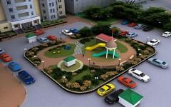 Города Кубани завершают работы по благоустройству дворов и общественных мест
