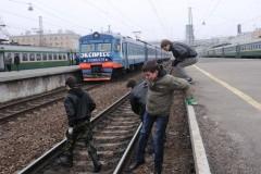 Транспортная полиция Сочи проводит акцию «Дети России»