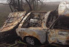 В Элисте задержаны подозреваемые в угоне и поджоге автомобиля