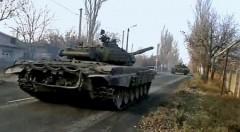 Из Донецка в Луганск направлена бронетехника