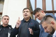 Задержание Саакашвили в Киеве спровоцировало уличные беспорядки
